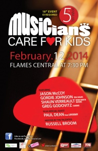 Musicians Care for Kids 2014